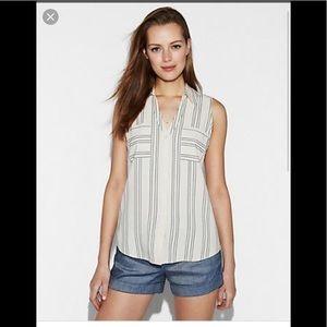 Slim Fit Sleeveless portofino shirt